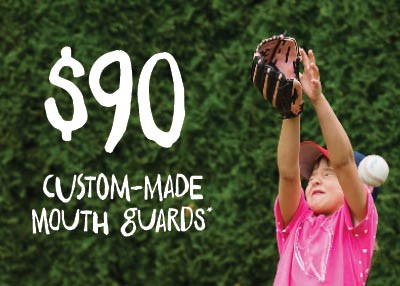Custom Made Mouth Guards - No Health Insurance Special Offer IMAGE