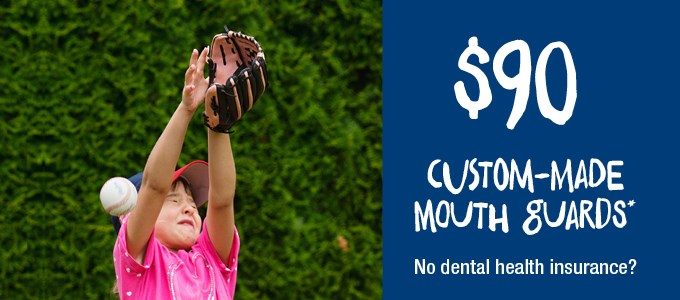 Custom Made Mouth Guards - No Health Insurance IMAGE