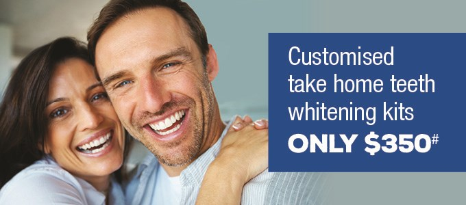 Teeth Whitening $350 Queensland Special Offer IMAGE