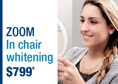 Zoom in Chair Whitening Sydney CBD Special Offer IMAGE