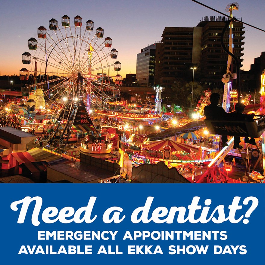 Dentists available this EKKA Show Holiday Image