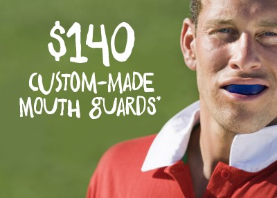 Custom Made Mouth Guards - $140 Special Offer IMAGE