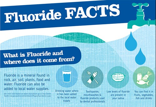 how to get fluoride out of water