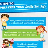 Four simple steps to healthier teeth and gums IMAGE