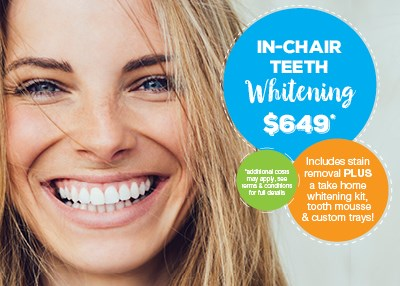 In-Chair Teeth Whitening $649 Special Offer IMAGE