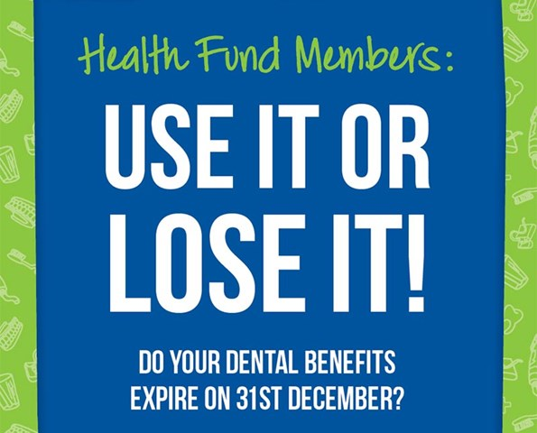 Health Fund Members: Use it or lose it! IMAGE