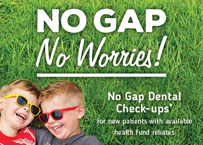 No Gap New Patients Special Offer IMAGE