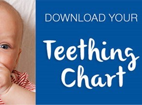 Is your baby teething? Everything you need to know about teething from your local dentist. IMAGE