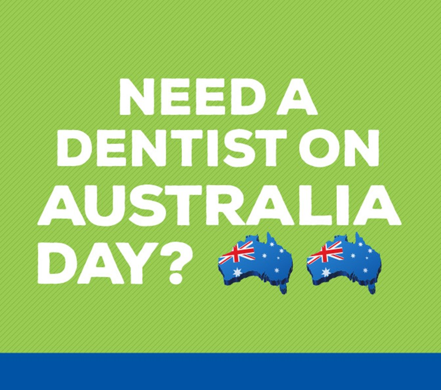Need a dentist on Australia Day? Image